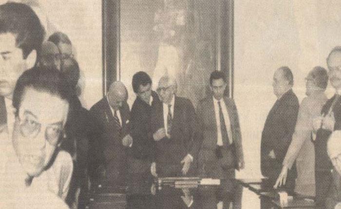 Ramón J. Velásquez no se dejó tumbar, por Edgar C. Otálvora