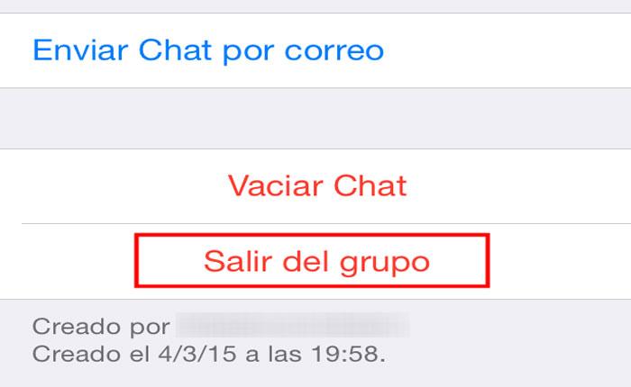 ¡Me salí de un grupo de whatsapp! Por Reuben Morales