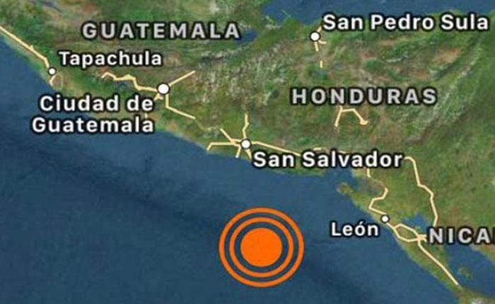 Alerta de tsunami en Centroamérica por terremoto de magnitud 7