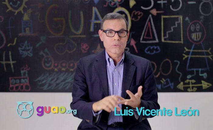 Luis Vicente León: Hombre de números