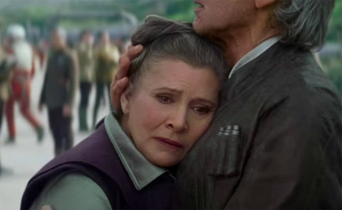 Famosos reaccionaron ante fallecimiento de Carrie Fisher