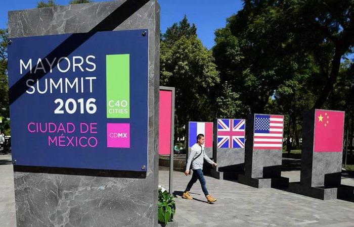 Caracas en la Cumbre de Alcaldes de México, por Milos Alcalay