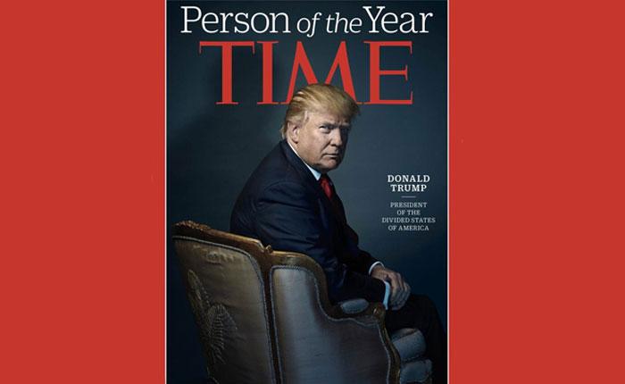 Trump, personaje del año para la revista Time