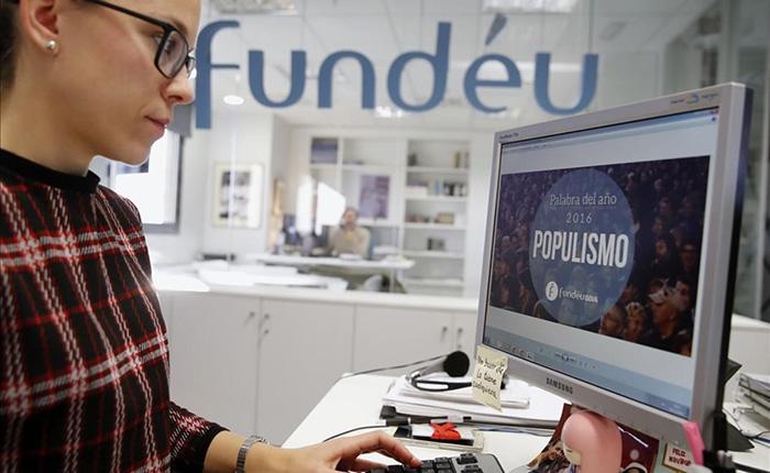 """""""Populismo"""" es la palabra del año de Fundéu"""