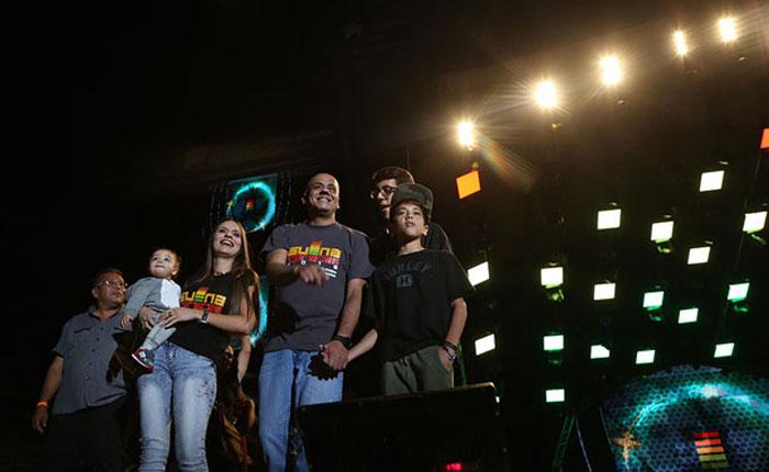 Con mensajes a Fidel anuncian regreso de Suena Caracas
