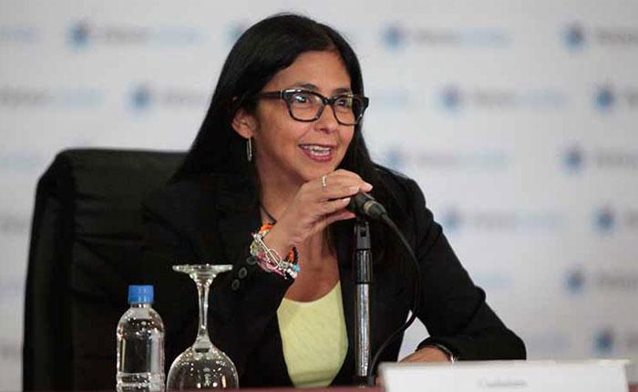 Delcy Rodríguez pide a CNE rendir cuentas de elecciones regionales ante la ANC