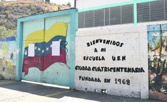Delincuentes sometieron a estudiantes y maestros en escuela de Ruiz Pineda