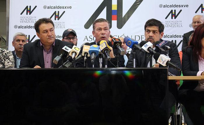 Alcaldías opositoras se declararon en emergencia por falta de presupuesto