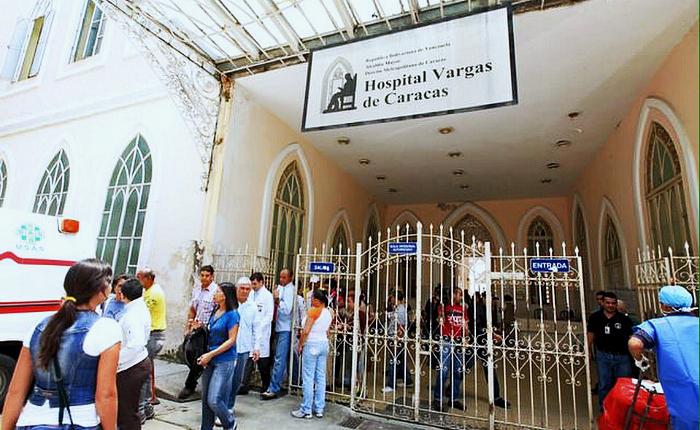 Ataque de colectivos en Hospital Vargas impidió sesión de AN