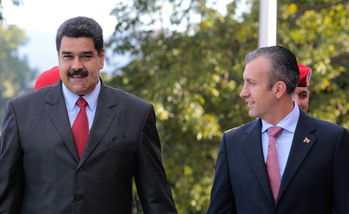 En Gaceta Oficial: Maduro traspasa 14 de sus atribuciones al Vicepresidente El Aissami