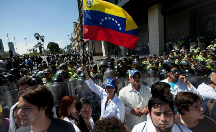Protesta marcha medicos