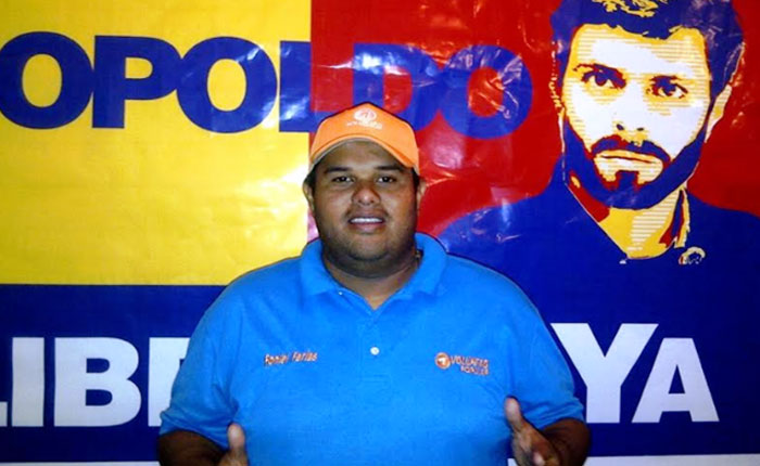 Dictan medida sustitutiva de libertad al concejal Roniel Farías