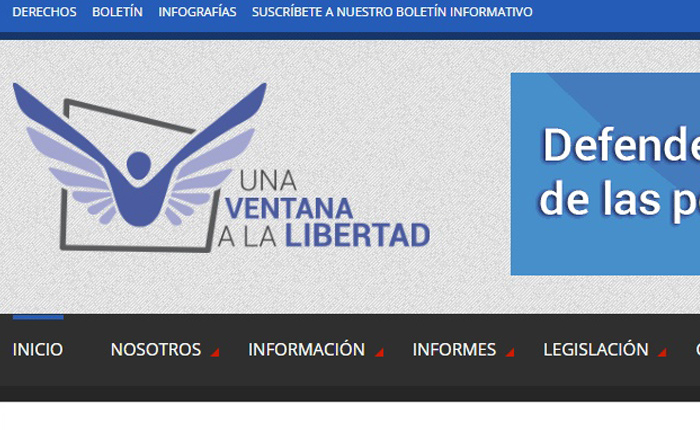 ONG Una ventana a la libertad estrena sitio web para defender derechos humanos de los presos