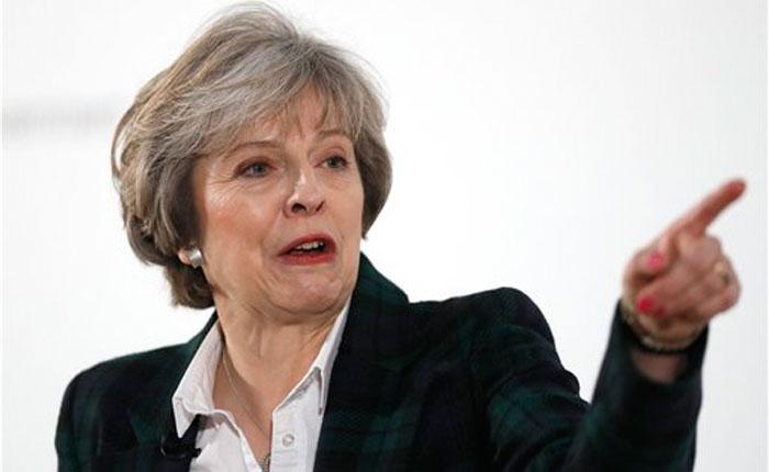 Theresa May confirma que con el Brexit el Reino Unido dejará el mercado único europeo