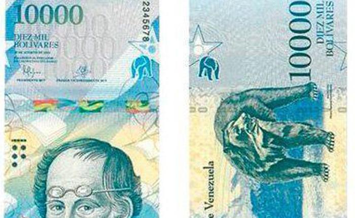 Aseguran que el nuevo billete de 10.000 bolívares comienza a circular este #30Ene