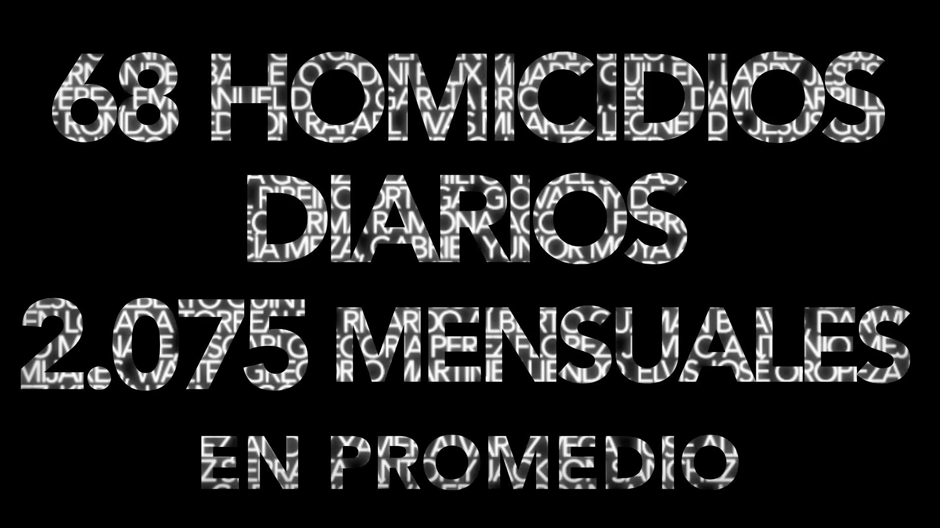 Las víctimas de homicidios en Venezuela tienen nombre y apellido