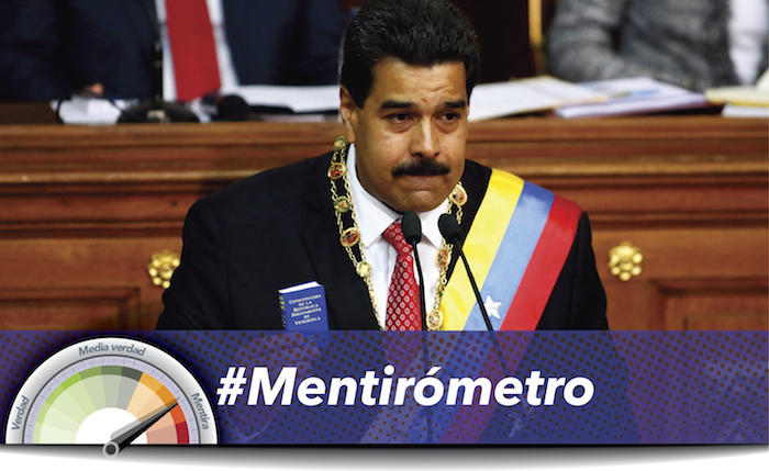 #Mentirómetro: Cómo Maduro mintió y ocultó datos en su Memoria y Cuenta 2016