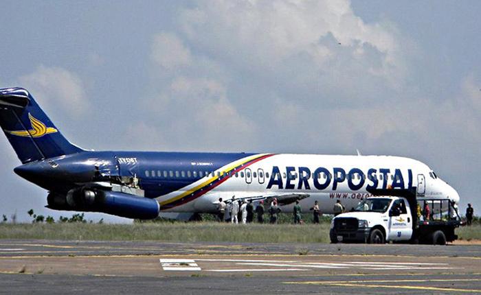 Aeropostal cesó operaciones y se desconoce cuando vuelva a volar