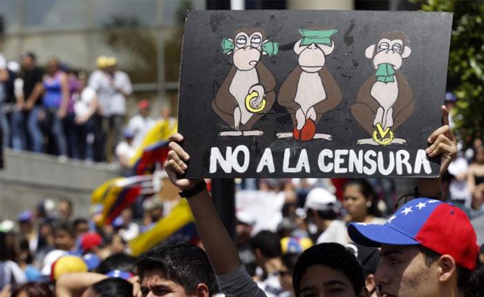 CIDH condenó censura en Venezuela a prensa y medios de comunicación