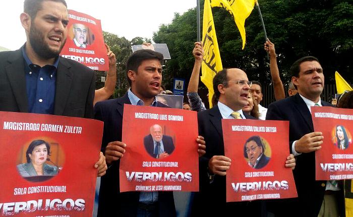 Diputados exigieron la realización de elecciones frente al TSJ
