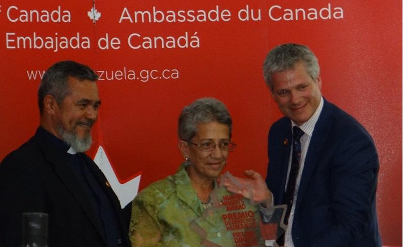Una educadora popular de Petare ganó un premio de DDHH