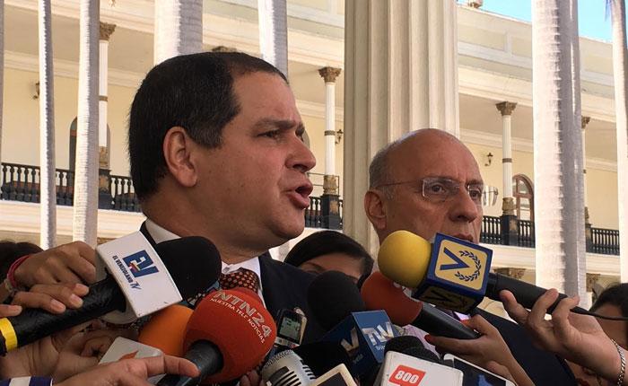 Luis Florido: pedimos al cuerpo diplomático que levante la voz frente ataques contra la AN