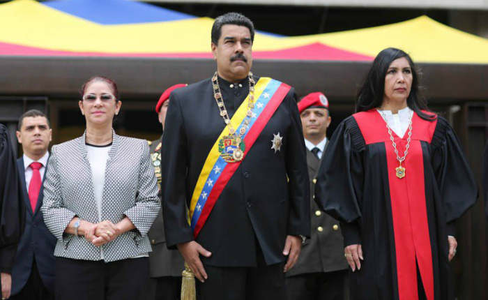 Maduro Cilia Gladys Año judicial TSJ