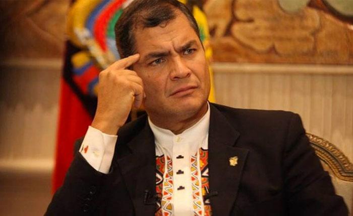 Rafael Correa niega que exista una crisis humanitaria en Venezuela