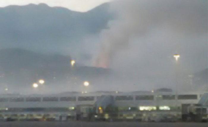 Diputado Olivares pide atender incendio en vertedero de basura de Vargas