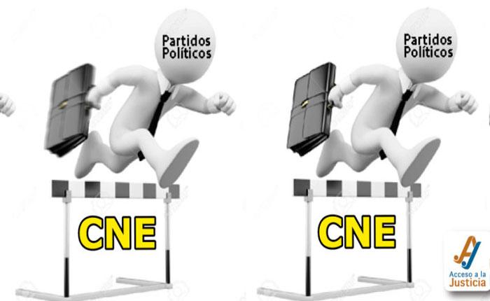 Renovación de partidos políticos, una carrera de obstáculos