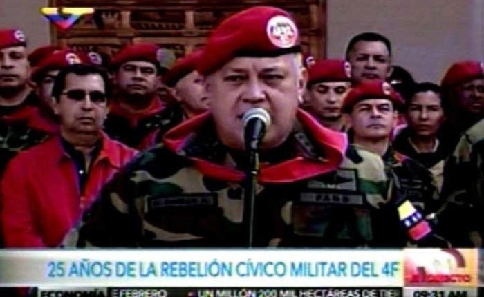 """Cabello: """"Estamos preparados para rendir cuentas en 30 años"""""""