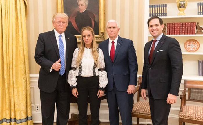 Como una reunión en la Oficina Oval entre Tintori y Trump cambió la política de EE.UU hacia Venezuela