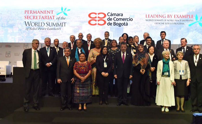 Premios Nobeles de Paz apuestan  por el entendimiento y la negociación en Venezuela