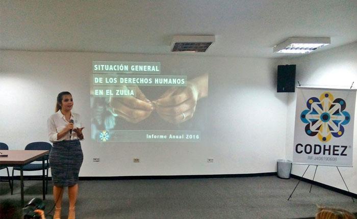 CODHEZ: Derechos más transgredidos en Zulia son la alimentación y salud