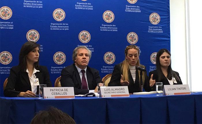 Luis Almagro da rueda de prensa sobre situación de Venezuela pese a protesta de delegación venezolana
