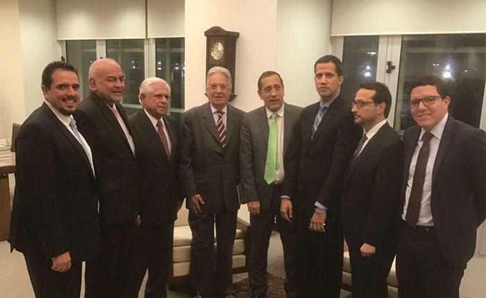 Diputados se reunieron con ex presidente brasileño Cardoso