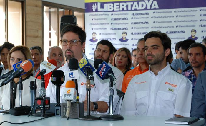 Denuncian que régimen de Maduro pretende ilegalizar a Voluntad Popular con
