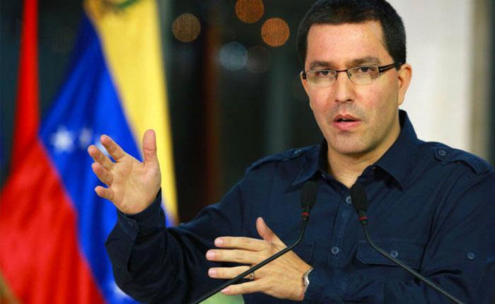 Jorge Arreaza se reunió con el presidente de la Asamblea Nacional de Nicaragua