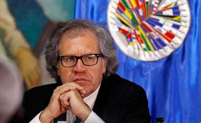 Luis Almagro pide sanciones más duras de la UE contra Venezuela