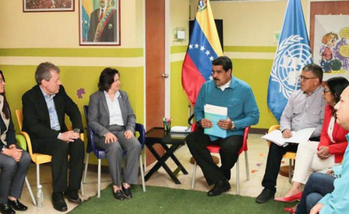 Maduro solicita ayuda a la ONU en materia de medicamentos