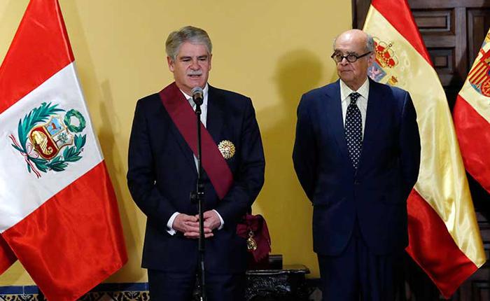 Perú y España preocupados por la situación en Venezuela