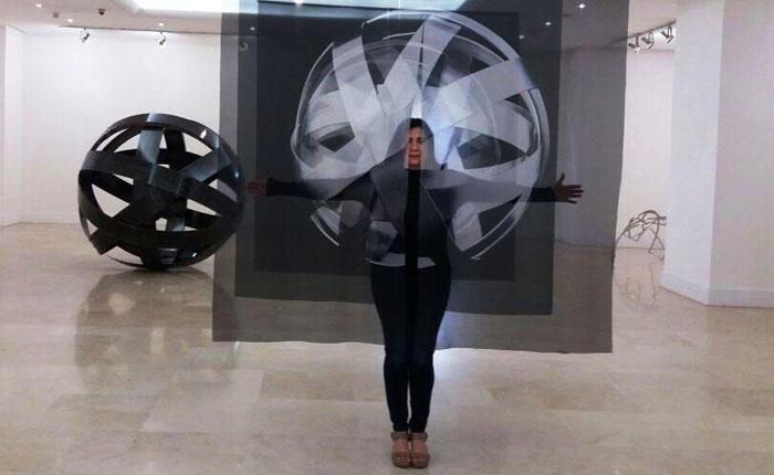 Artista venezolana Sydia Reyes inaugura exposición de la este #26Mar