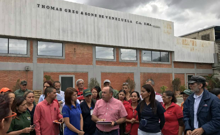Gobierno intervino oficialmente a empresa Thomas Greg and Sons