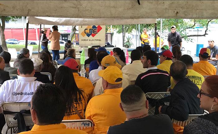 Jornada de validación transcurre en Caracas y el interior del país