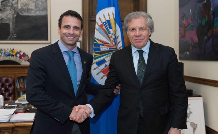 Capriles anunció consejo de la OEA para inicios de la semana entrante