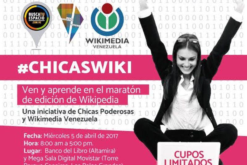 #ChicasWiki llega para empoderar a las mujeres venezolanas