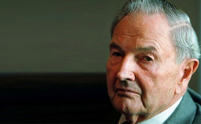 Murió el magnate David Rockefeller a los 101 años