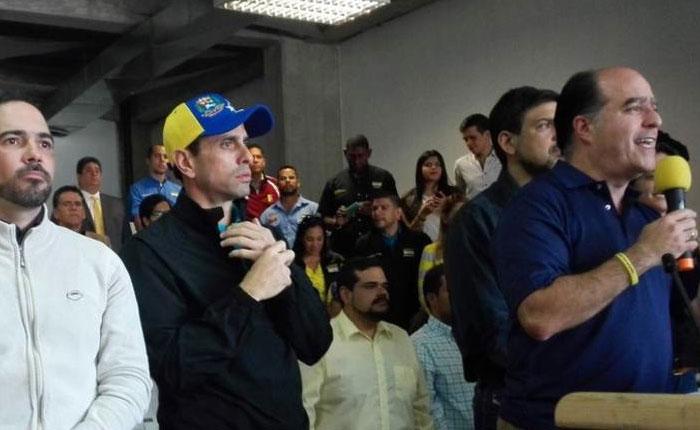 Julio Borges: AN apoyará exigencia de elecciones en Venezuela hecha por la OEA