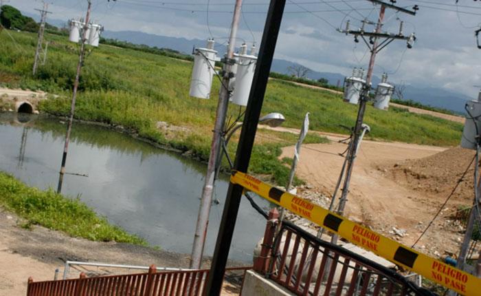 Principal embalse de agua en Carabobo es un estanque de cloacas