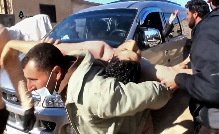 58 muertos en supuesto ataque con gas en Siria